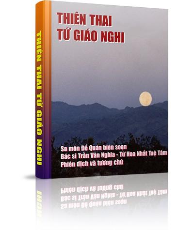 Thiên Thai Tứ giáo nghi - Thay lời tựa