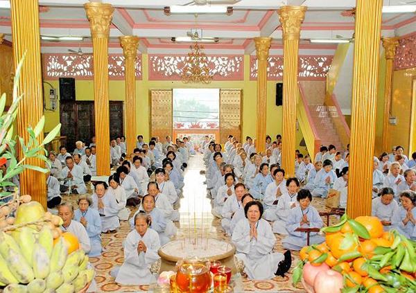 Mục đích của đạo Phật - Bát quan trai giới