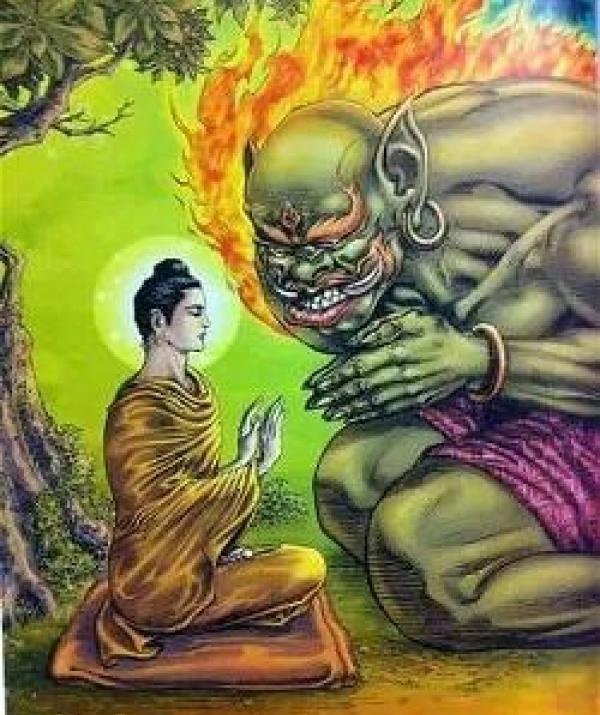 Bài viết, tiểu luận, truyện ngắn - Ranh giới giữa Phật và ma
