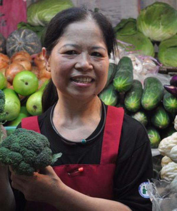 Sử Dụng Thất Giác Chi (Thất Bồ Đề Phần) Trong Công Phu Môn Niệm Phật - Bà lão bán rau vĩ đại