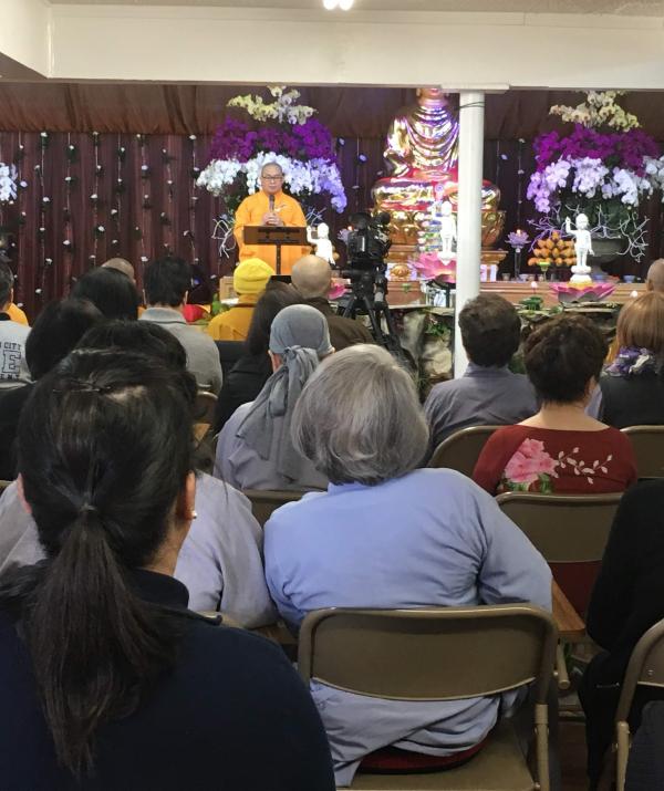 Bài viết, tiểu luận, truyện ngắn - Viện Phật Học Bồ-đề Phật Quốc khai mạc Pháp hội Thanh Tịnh Tam Nghiệp