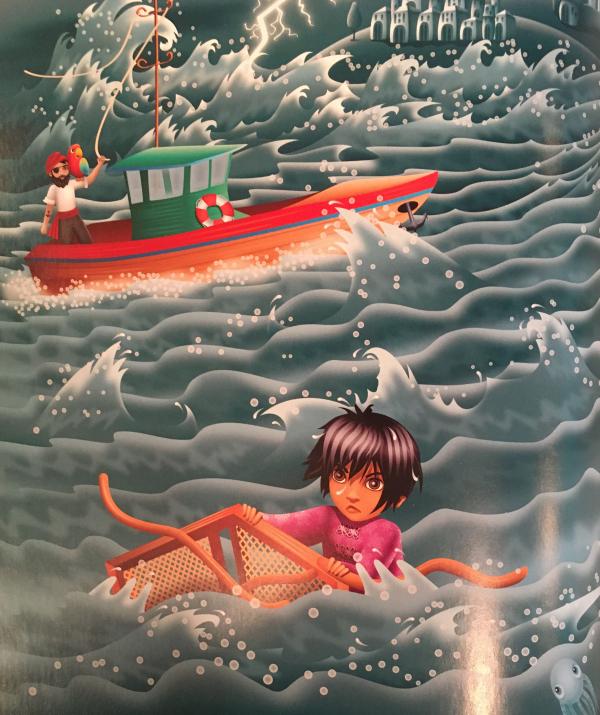 Bài viết, tiểu luận, truyện ngắn - Egbert và người đánh cá