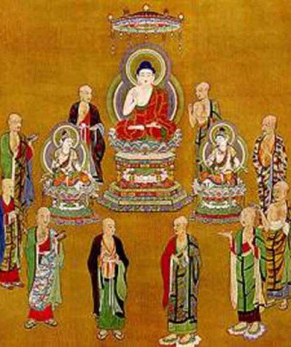 Bài viết, tiểu luận, truyện ngắn - Xưng tán Thập Đại Đệ tử Phật