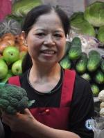 Bà lão bán rau vĩ đại