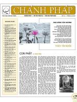 Nguyệt san Chánh Pháp số 14