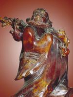Tổ Bồ-đề Đạt-ma qua nghệ thuật gỗ lũa