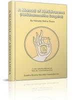 A Manual of Abhidhamma