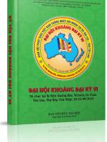 Kỷ yếu Ðại Hội Khoáng Đại kỳ 6 - GHPGVNTN Hải Ngoại tại Úc Đại Lợi - Tân Tây Lan