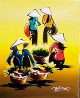 Tranh vẽ của Nguyễn Phúc Nguyên